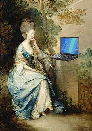 Countess Blogging