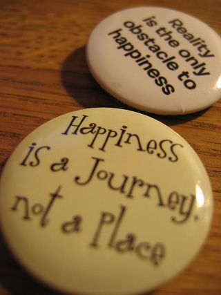 Happiness Buttons - worldmegan